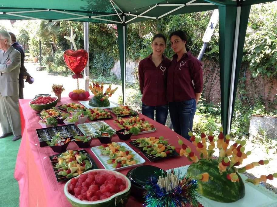 Buffet frutta thats amore patti marina sicilia